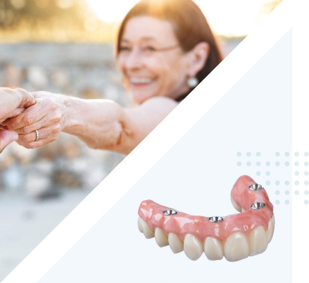 Affordable full dentures