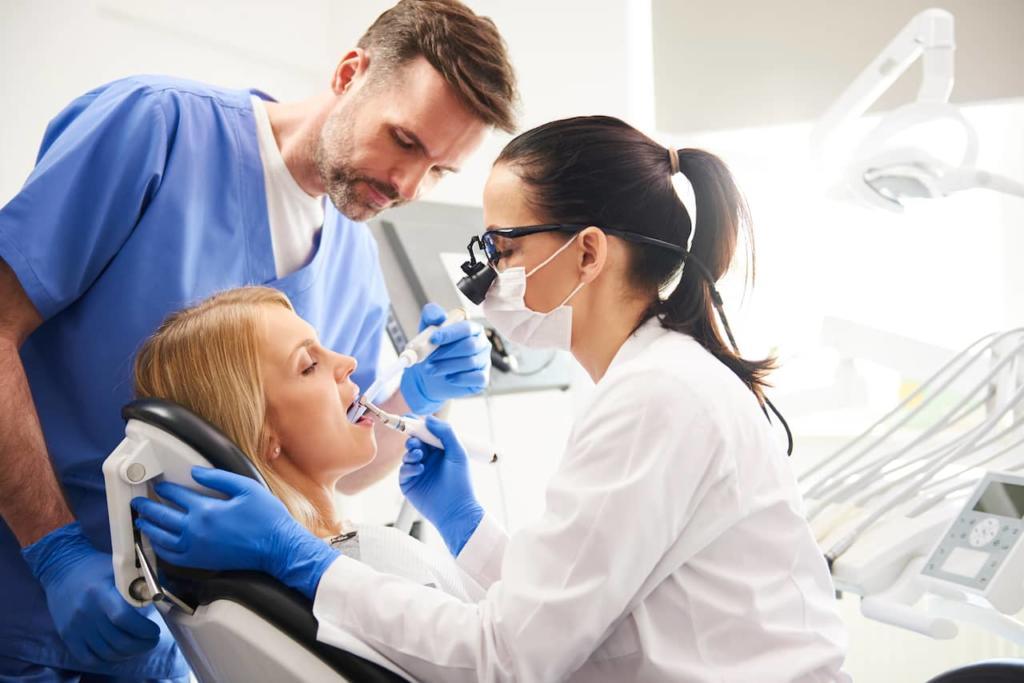 denture implant procedure